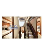 LED boat courtesy lights stair step lighting for marice yacht RV motohome in Blue/Cool White/Warm White Lighting